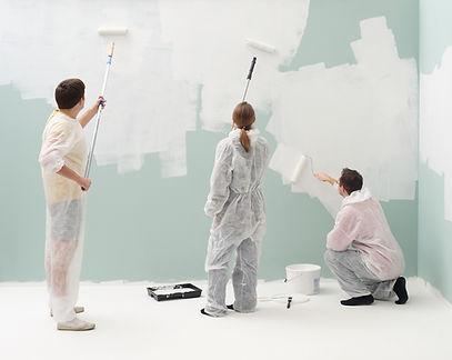 Parede de pintura