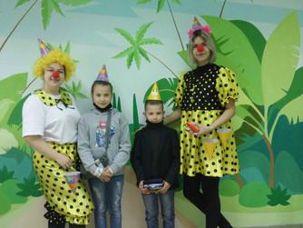 Поздравление маленьких пациентов с Днем защиты детей