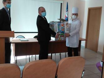Управлением Сбербанка и РЖД Пензенской области проведена благотворительная акция  для  детей