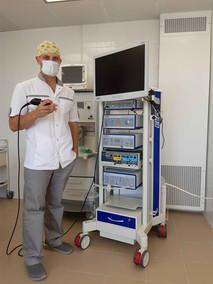 Закуплено эндоскопическое оборудование для проведения диагностических и лечебных манипуляций на ЛОР-