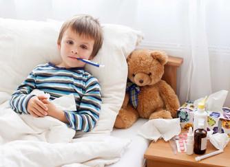 Как проходит грипп у детей.