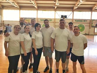 Первенство по волейболу среди смешанных команд первичных организаций Профсоюза учреждений здравоохра