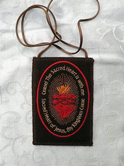 Large Sacred Heart of Jesus Badge