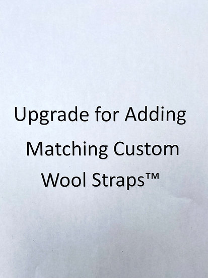 Upgrade for Matching Custom Wool Straps™ by Mantle Of Mary For Your Scapular