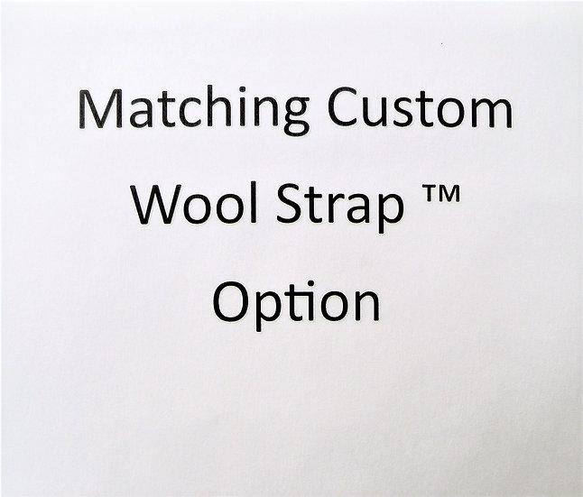 Custom Wool Straps for Brown Scapular