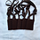 Thumbnail: Brown Scapular Double Woven Wool Panels (1.5 x 2 size) Without Design