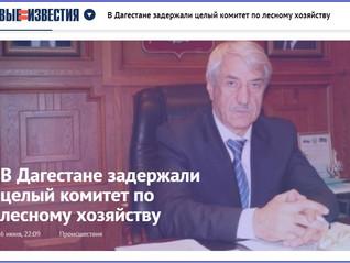 В Дагестане задержали целый комитет по лесному хозяйству