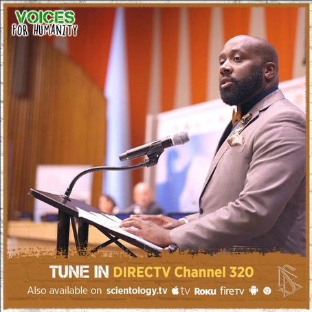 Voices For Humanity Protects Human Rights With Christopher King
