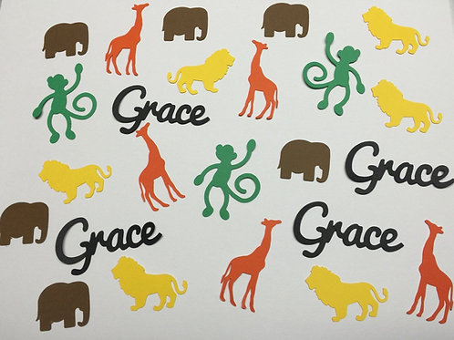 Personalized Safari Animals
