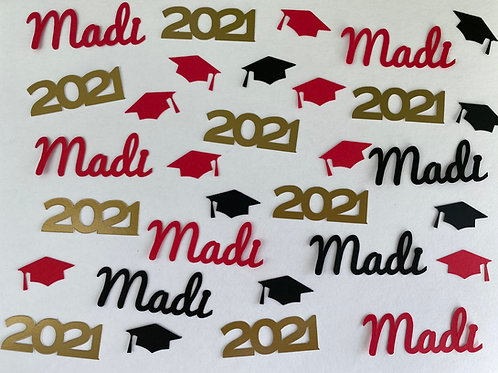 Personalized Graduation Custom Confetti