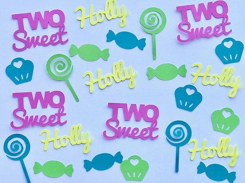 Two Sweet 2nd Birthday Confetti