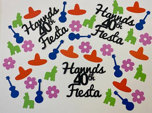 Personalized Fiesta Confetti