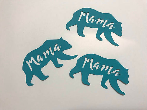 Mama Bear Baby Shower Confetti