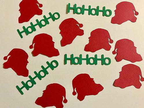 Ho Ho Ho Santa Confetti