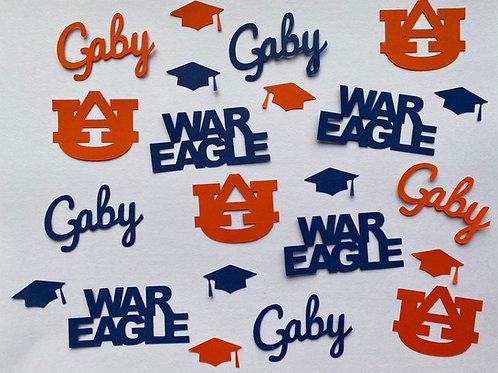 Auburn Graduation Confetti
