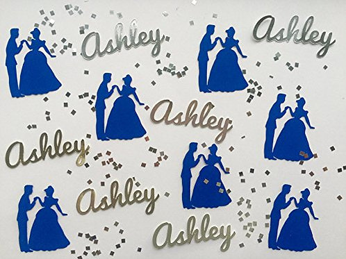 Personalized Cinderella Confetti