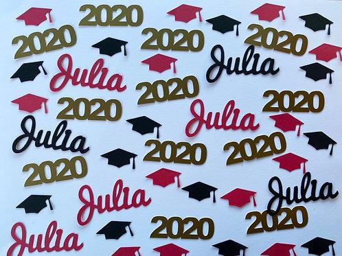 Personalized Graduation Custom Confetti