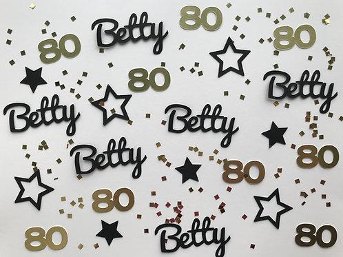 Milestone Birthday Confetti