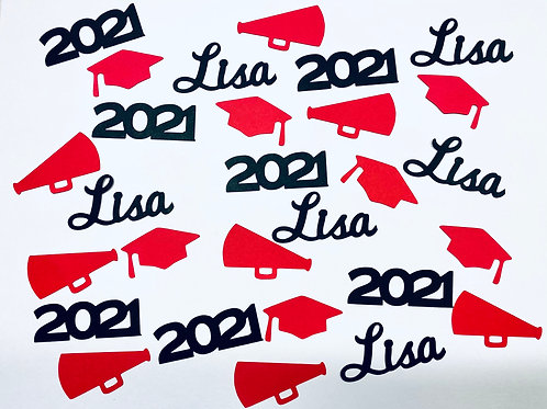 Cheer Graduation Confetti
