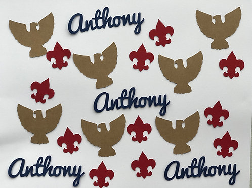 Eagle Scout Ceremony Custom Confetti