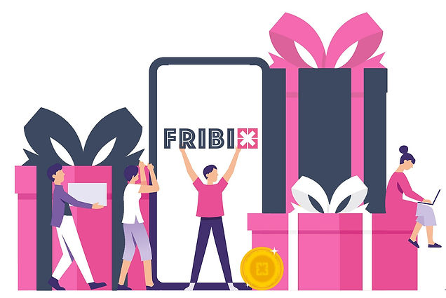 FRIBIX monetise social media money gift cards win earn free freebies fribix