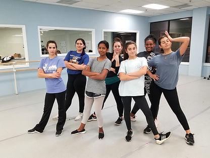 adult teen teenager hip hop dance class lesson studio sandy springs, ga