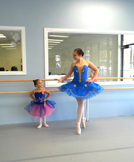Young Dancer with Erin