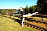 Dancer at Morgan Falls
