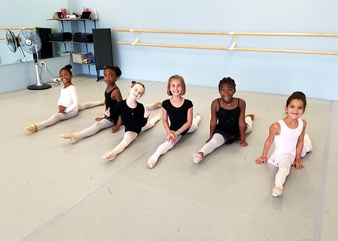ballet class barre student dance studio dancer sandy springs, ga lessons