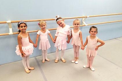 ballet class dance four five year olds ballet lessons dance studio sandy springs, ga