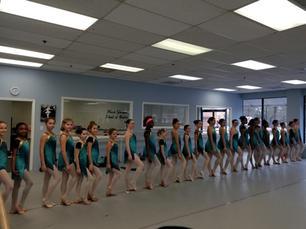 Company dancers rehearse for Aladdin
