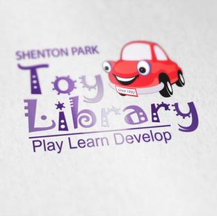 Shenton Park Toy Library Logo Design