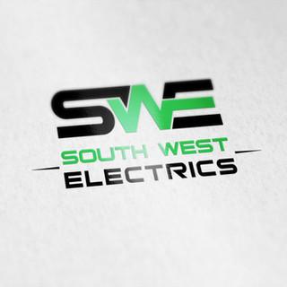South West Electrics Logo Design