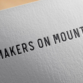 Makers on Mount Logo Design