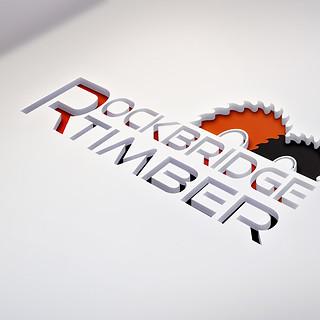 Rockbridge Timber Logo Design