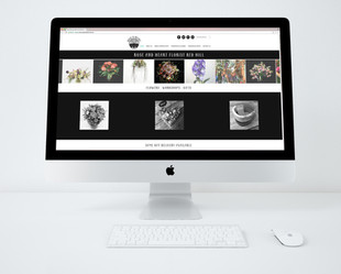 Rose and Heart Florist Brisbane Website Design