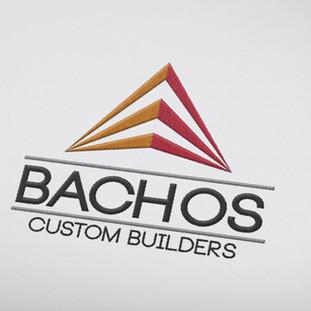 Bachos Custom Builders Logo Design