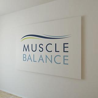 Muscle Balance Logo Design