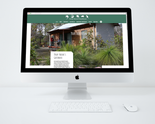 Perup; Natures Guesthouse Website Design