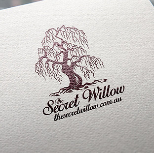 The Secret Willow Logo Design