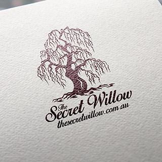 The Secret Willow Logo Design