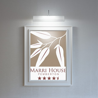 Marri House Logo Design