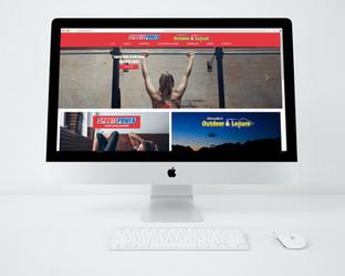 Alexanders Sportspower Website Design
