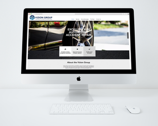 Vizion Group Australia Website Design