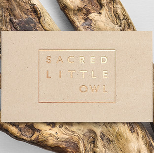 Sacred Little Owl Brand Design
