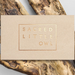 Sacred Little Owl Brand Design