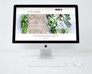 Food Online Australia Directory Website Design