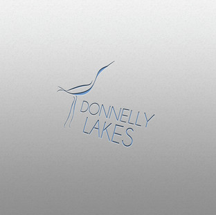 Donnelly Lakes Chalets Logo Design
