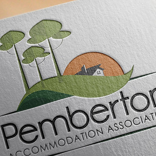 Pemberton Accommodation Association Logo Design