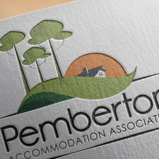 Pemberton Accommodation Association Logo Design
